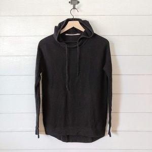Athleta Daybreak Silk Blend Hood Pullover Sweater